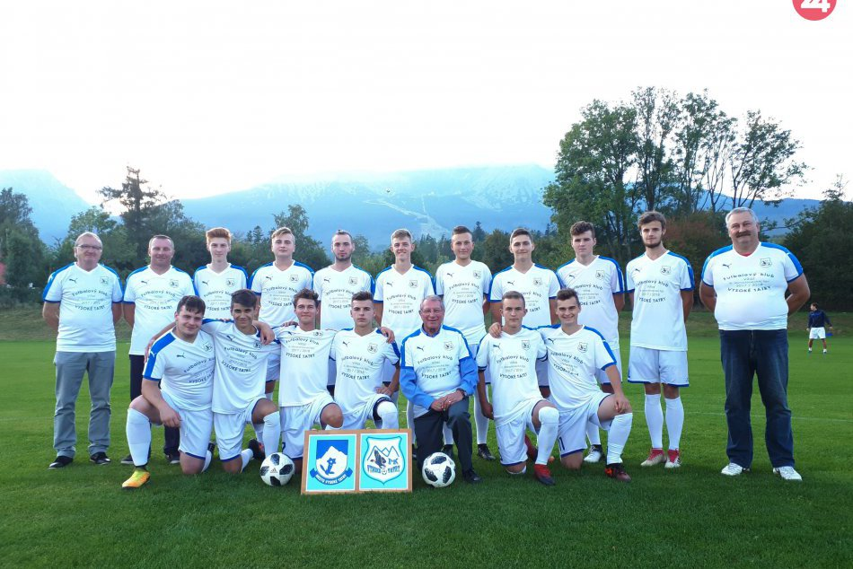 Odovzdávanie pamätných dresov FK Vysoké Tatry 09/2018