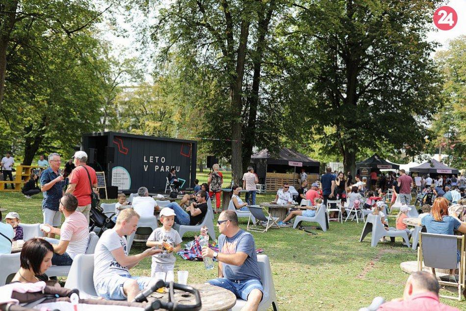 V OBRAZOCH: Food Fest v parku 2018 v Trenčianskych Tepliciach