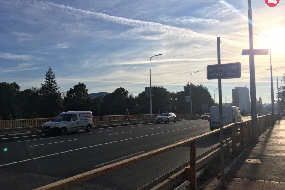 FOTO: Univerzitný most v Nitre dostal na zimu nový asfalt
