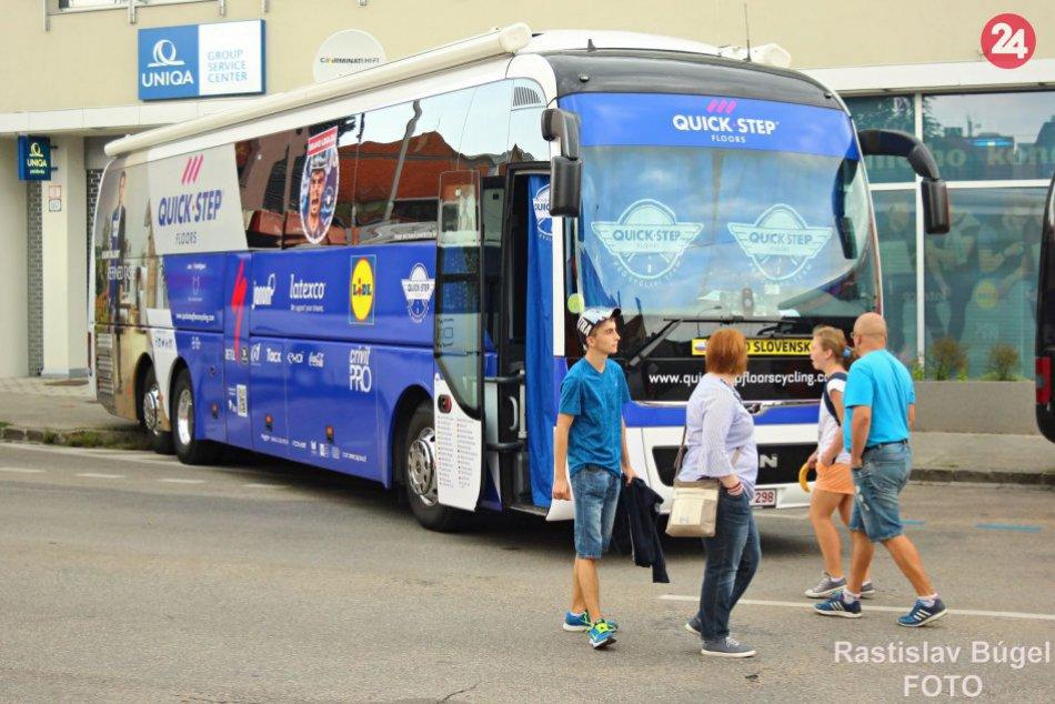 Cieľ 3. etapy pretekov Okolo Slovenska