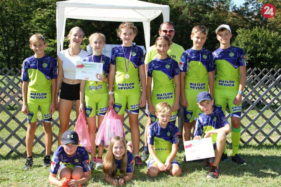 V OBRAZOCH: Biatlonisti z Revúcej na Majstrovstvách Slovenska v letnom biatlone
