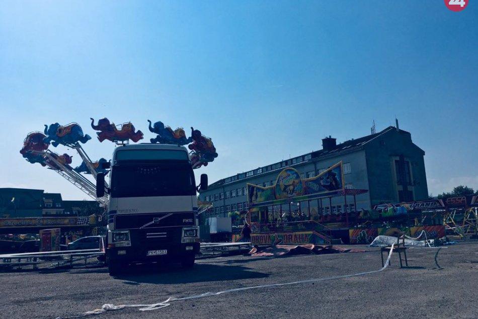 V OBRAZOCH : Atmosféra príprav Zvolenského jarmoku zachytená na fotkách