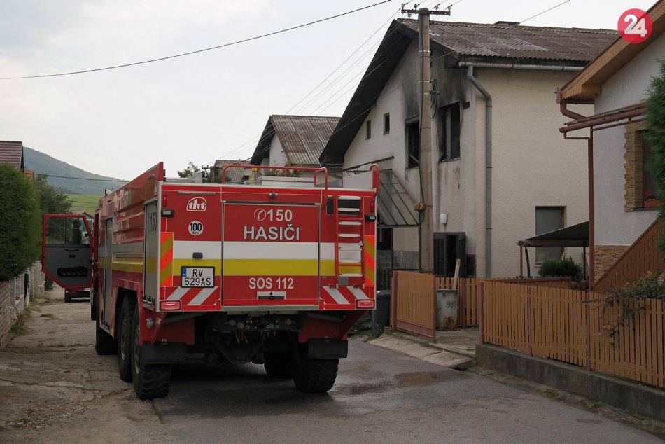 Obrazom: Požiar domu v Krásnohorskom Podhradí