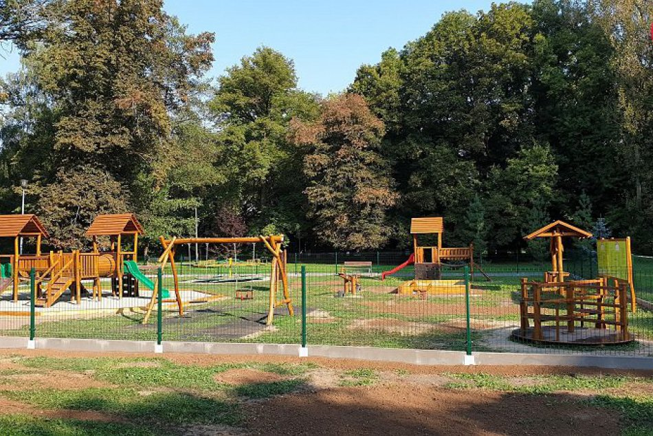 Detské ihrisko vo Fiľakove