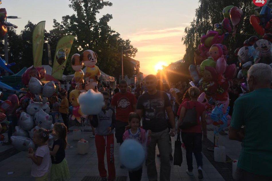 V OBRAZOCH: Jarmočná nálada v uliciach mesta Zvolen