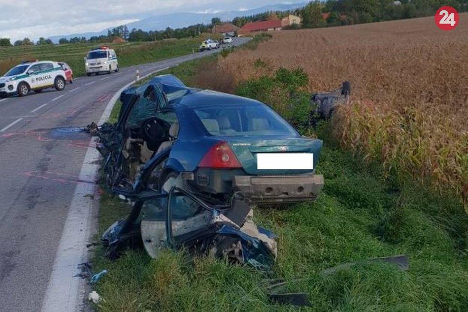 Tragédia neďaleko Topoľčian: Dopravnú nehodu neprežili traja muži