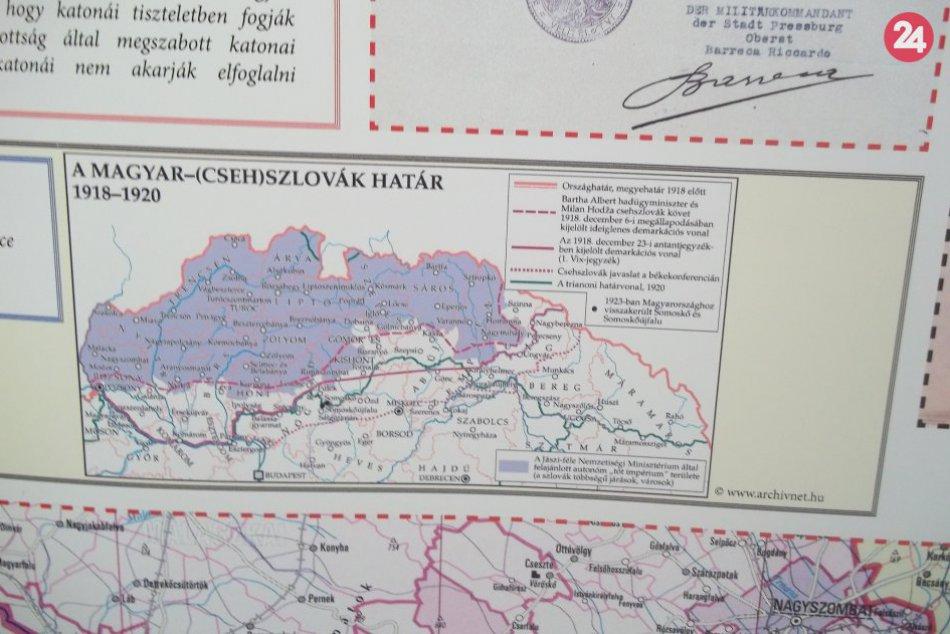 Šaliansky archív prichádza s výstavou k roku 1918: Novinkou je inštalácia v škol