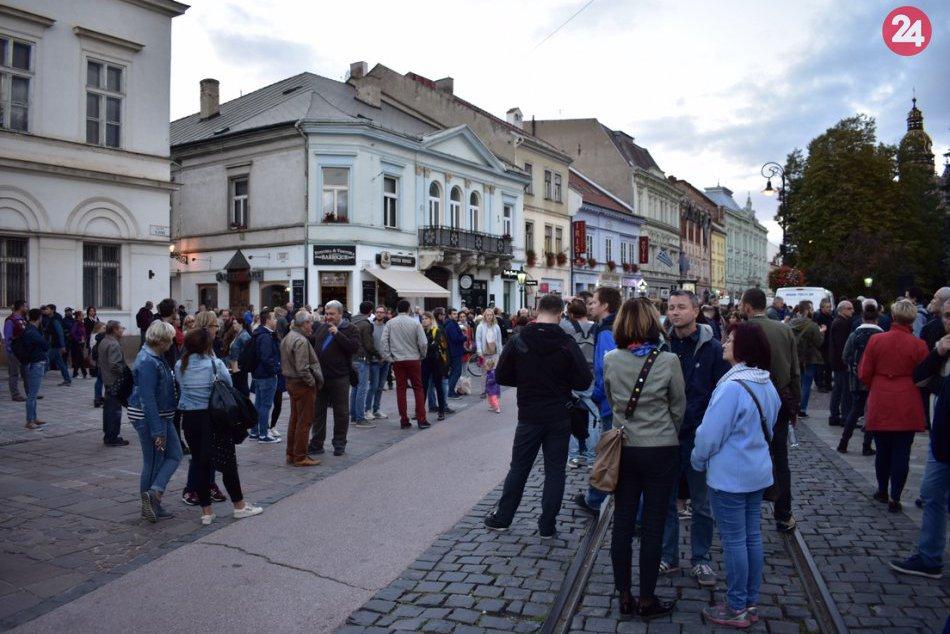 Protest Košice