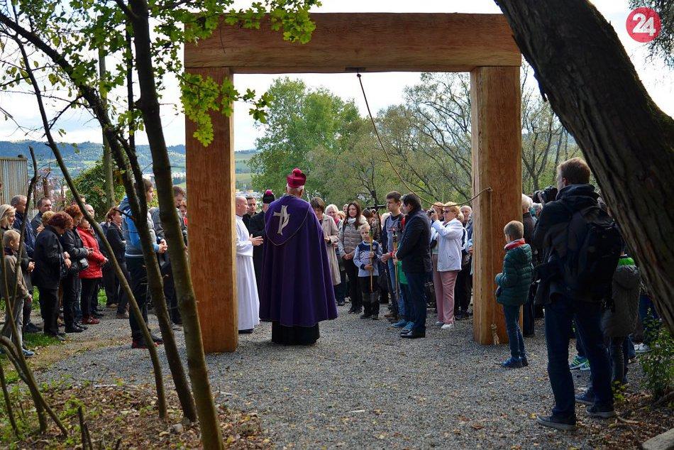 Otvorenie breznianskej kalvárie
