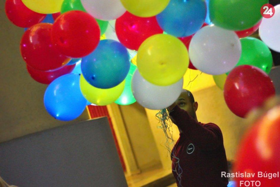Balónový sprievod v Nitre 2018