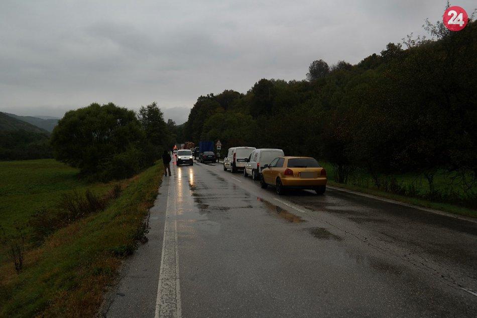 Obrazom: Dopravná nehoda pri Vlachove