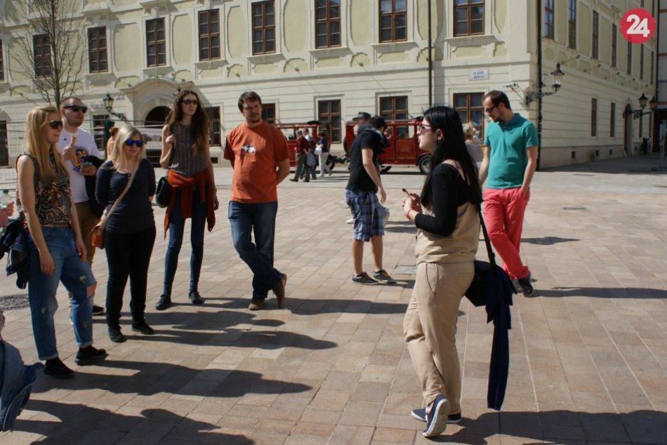 Tripito.eu v uliciach Bratislavy