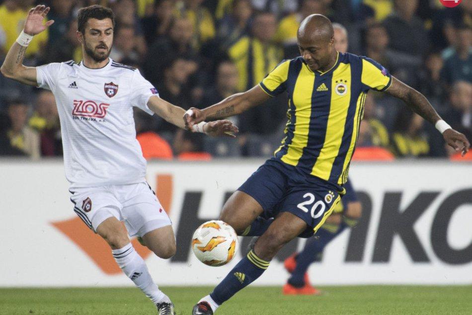D skupina Európskej ligy: Fenerbahce Istanbul - FC Spartak Trnava