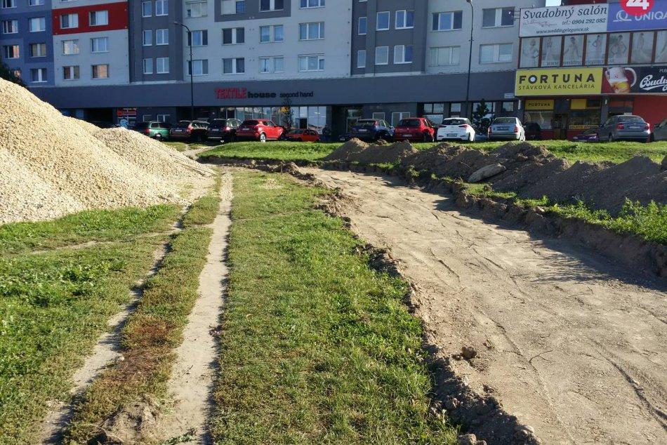 Petržalská cyklotrasa na Námestí hraničiarov