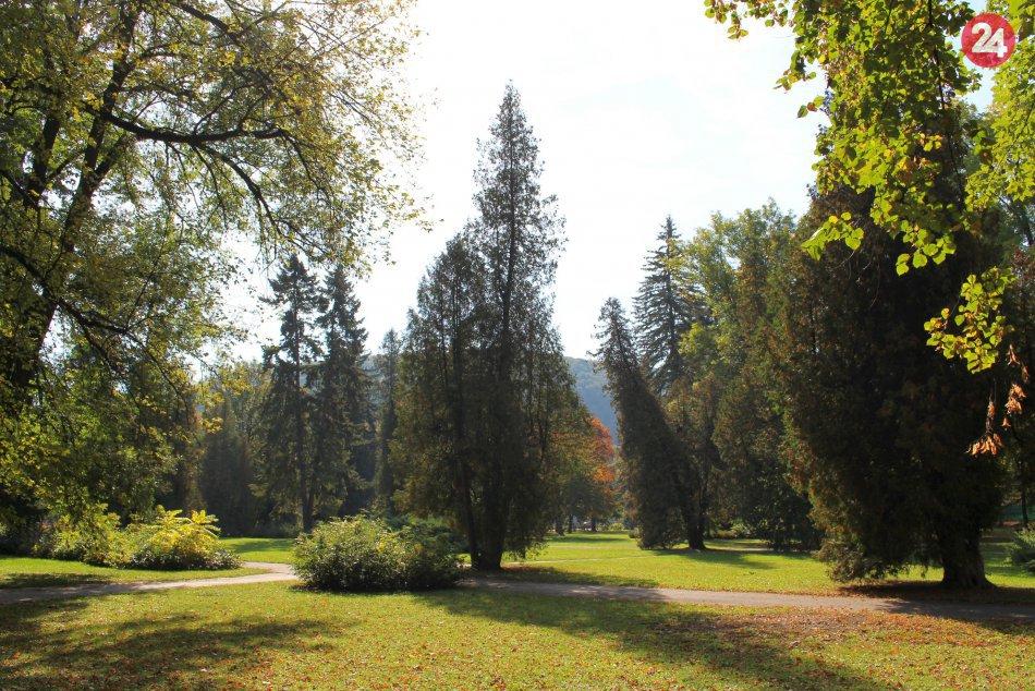 V OBRAZOCH: Do Mestského parku zavítala jeseň. Pozrite na tú krásu