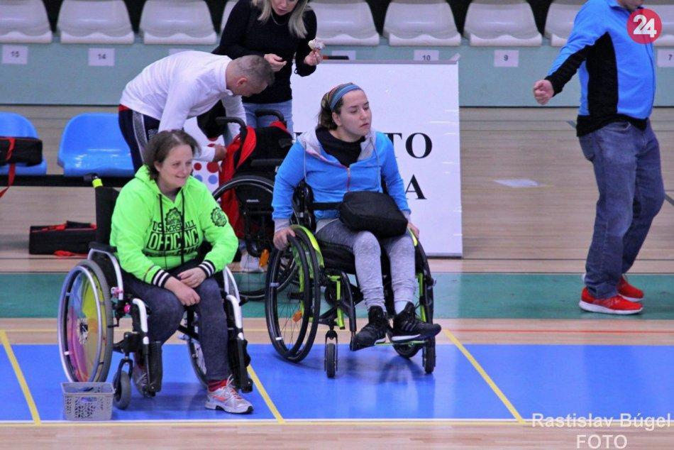 Nitra hostila majstrovstvá Slovenska v boccii