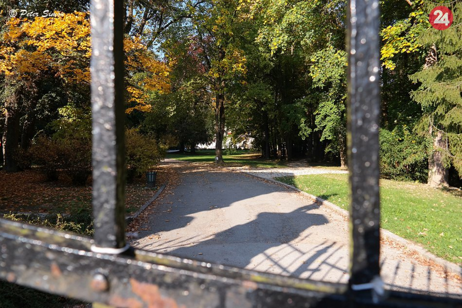 Obrazom: Pozrite si fotky krásneho parku v Betliari v jesennom šate