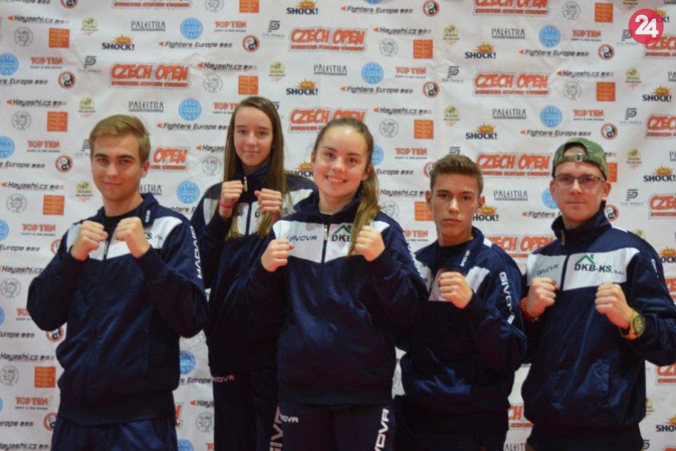 Michalovskí kickboxéri sa zúčastnili turnaja v Prahe