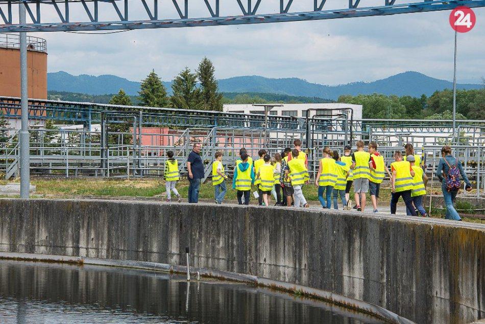 V OBRAZOCH: V čističke odpadových vôd Rakytovce pribudlo jazierko