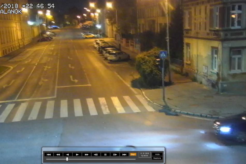 Polícia žiada svedka nehody na Štúrovej o pomoc: Poskytla kamerové zábery, FOTO