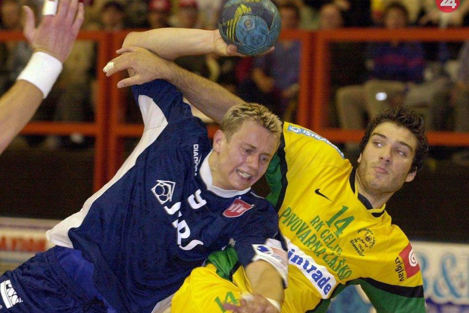 Prvý zápas slovenského klubu v Lige majstrov: Považská Bystrica - Celje (2003)