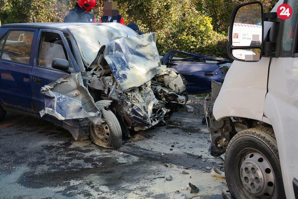 Dopravná nehoda pri Slavci