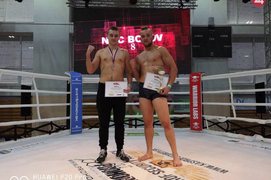 V OBRAZOCH: Cenné triumfy pre bojovníkov bystrického Erawan gymu