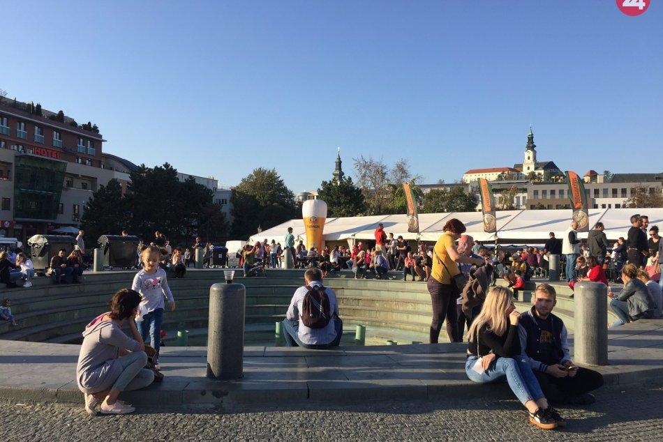 FOTO a VIDEO: Nitra má za sebou prvý ročník Októberfestu, prilákal tisíce ľudí