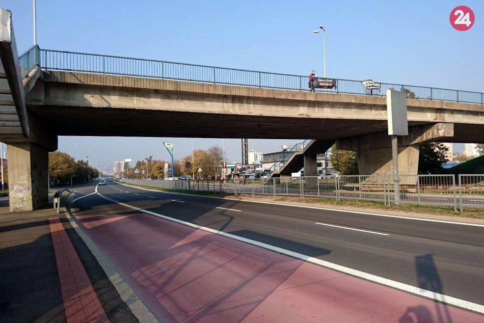 Most nad Panónskou cestou v Petržalke opravia