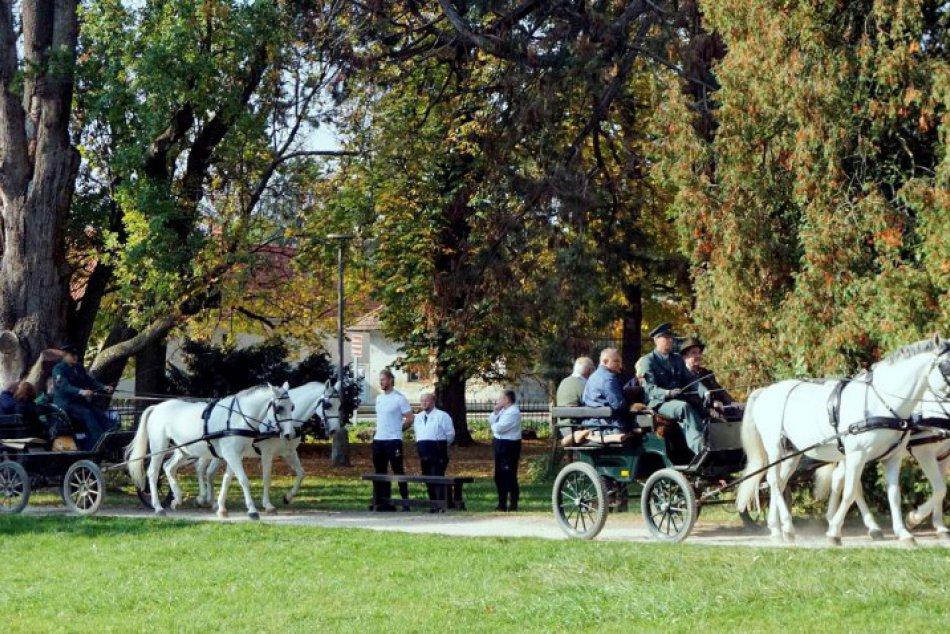 Hubertova jazda v Topoľčiankach 2018