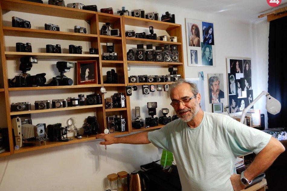 FOTO: Petr Tymeš z Brna žije už takmer 40 rokov v Humennom. Vďaka fotoaparátu!