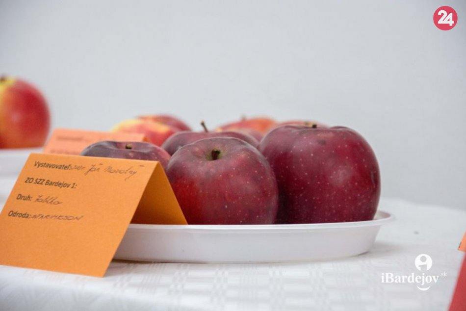 OBRAZOM: V Bardejove sa hľadalo jablko roka..