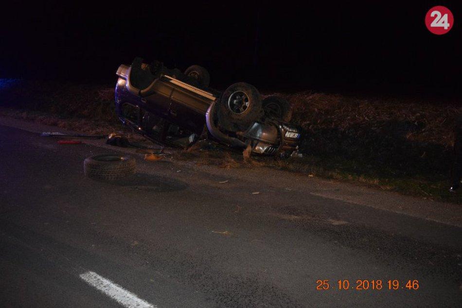 Tragická dopravná nehoda medzi Pozbou a Podhájskou