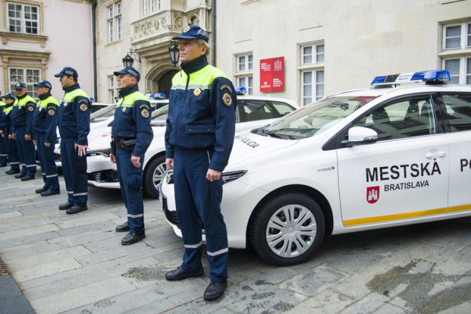 Mestská polícia Bratislava