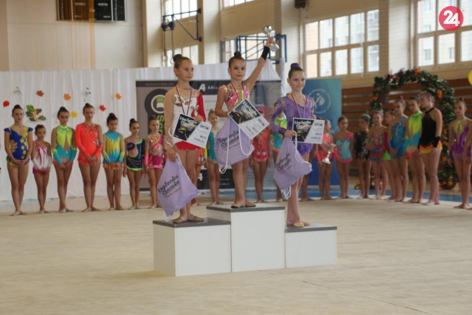 OBRAZOM: Šikovné gymnastky z Bardejova a ich veľký úspech