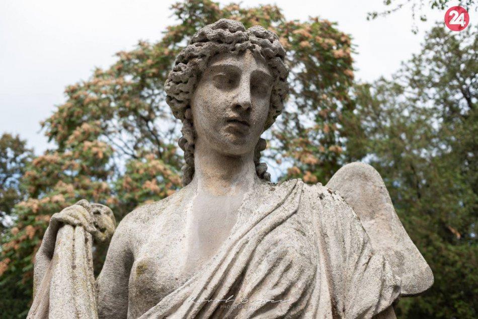 Cintorín a jeho nostalgická atmosféra