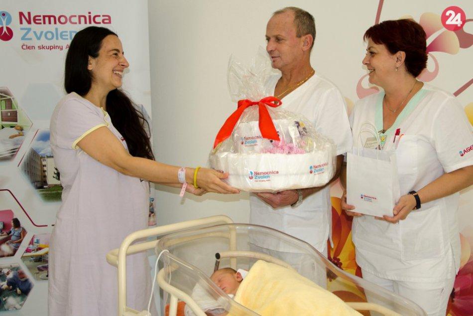 V OBRAZOCH: Nemocnica Zvolen zaznamenala tisíci pôrod