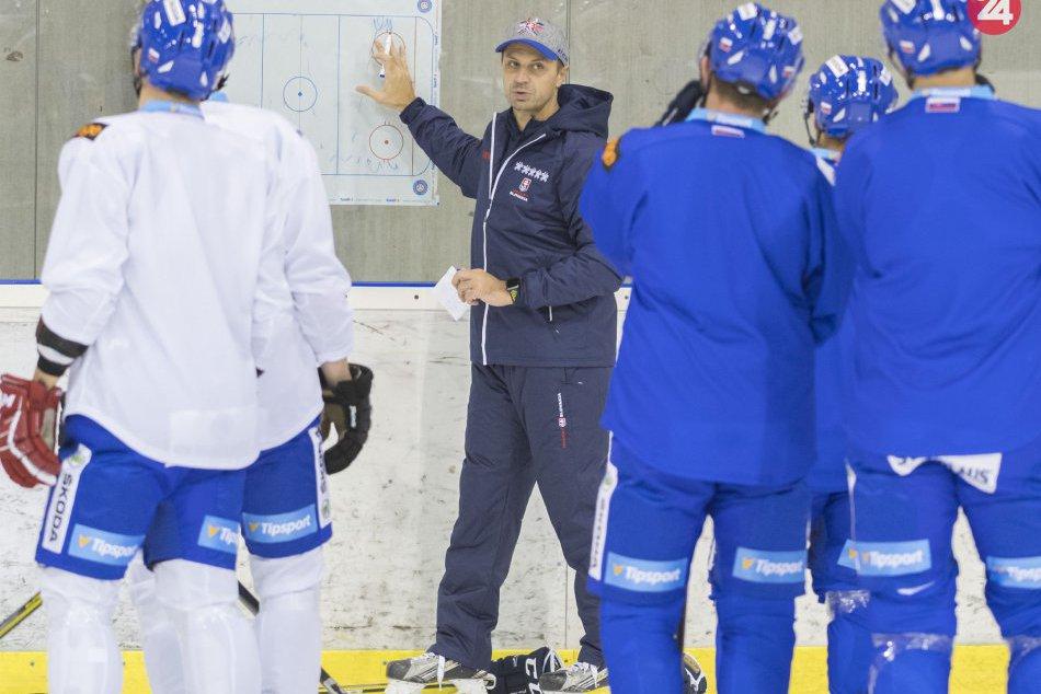 Zraz slovenskej hokejovej reprezentácie pred Nemeckým pohárom