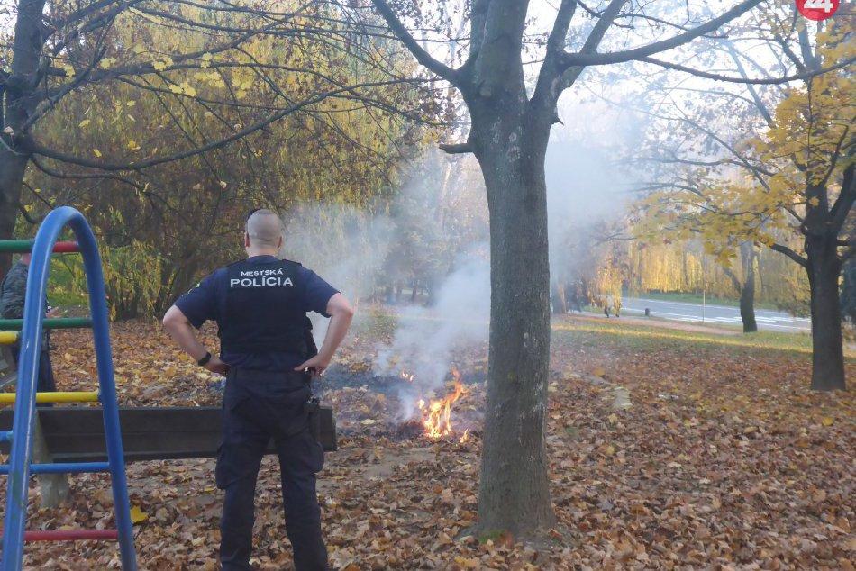 V OBRAZOCH: Na bezpečný priebeh sviatkov dohliadala aj mestská polícia