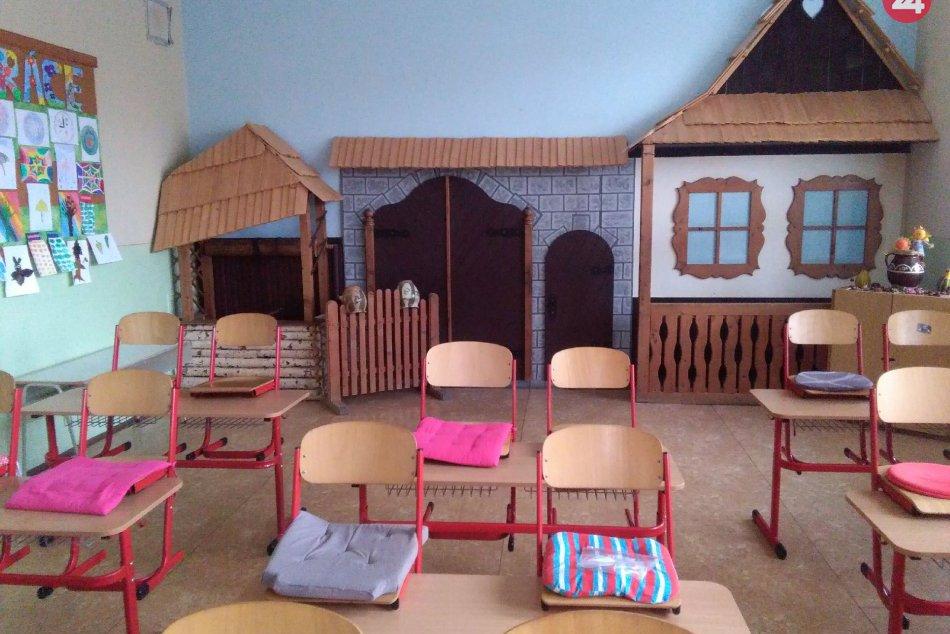 V OBRAZOCH: Základná škola s Materskou školou v Očovej