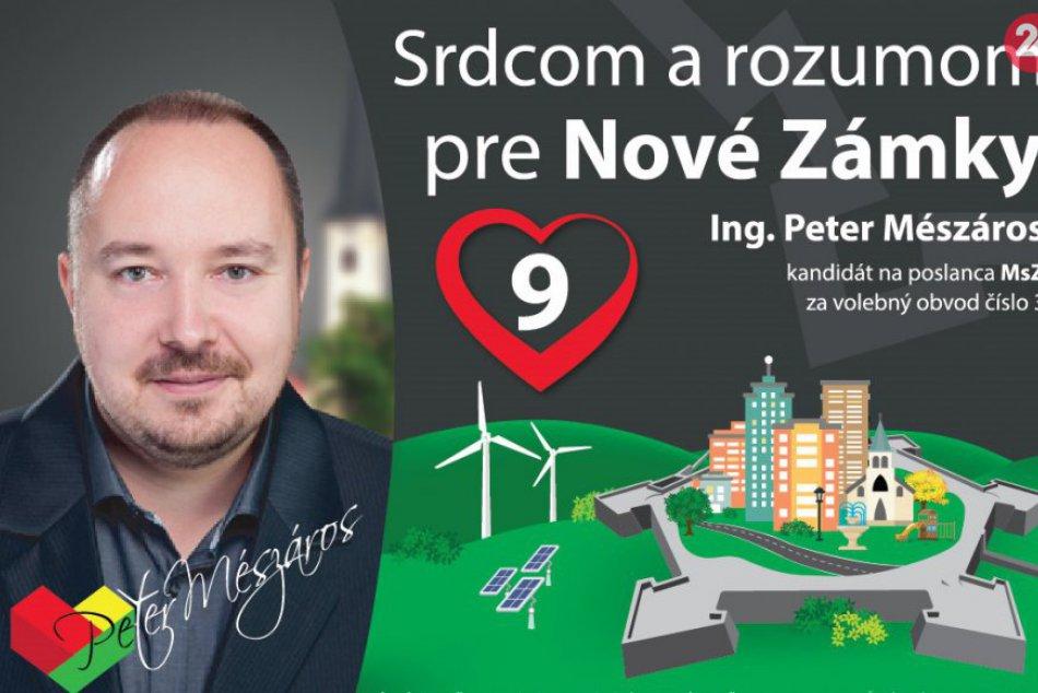 Peter Mészáros: Kandidát na poslanca