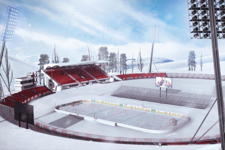 V OBRAZOCH: Bystrica zažije Kaufland Winter Classic Games 2019