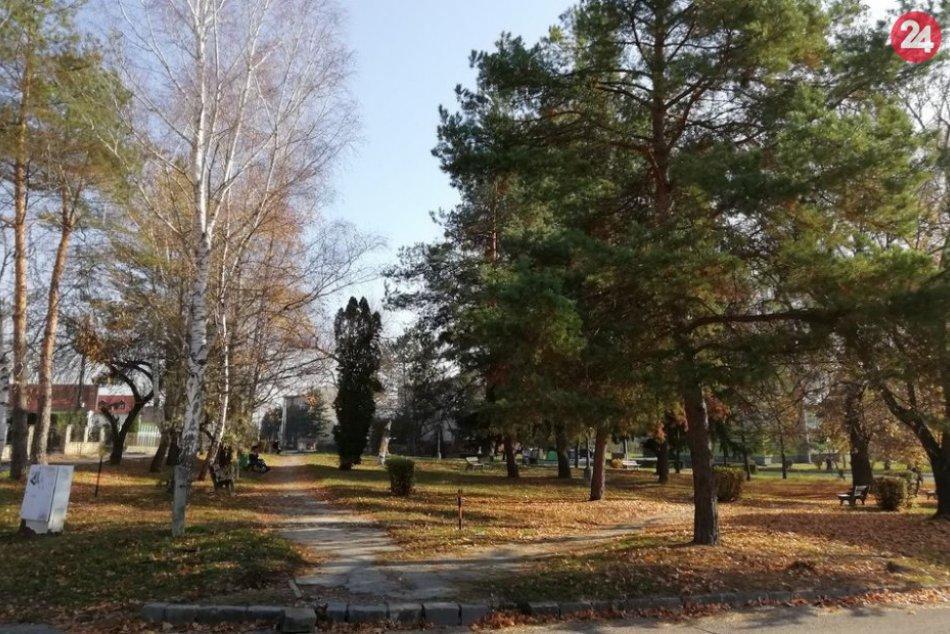 Začala jeho revitalizácia: V takomto stave sa nachádza park na Ul. osloboditeľov