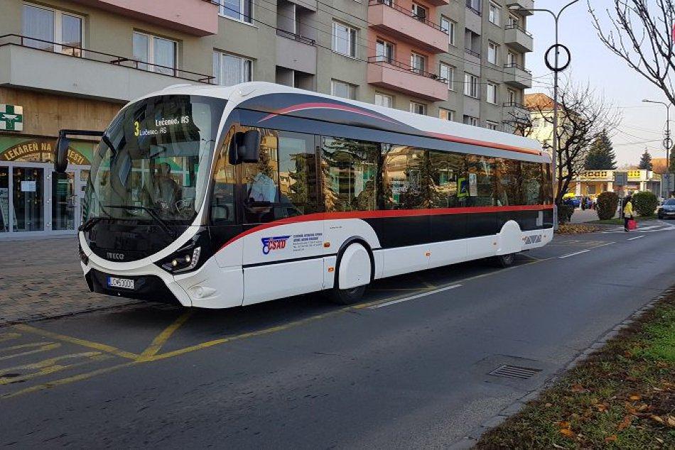 Nové autobusy v LC