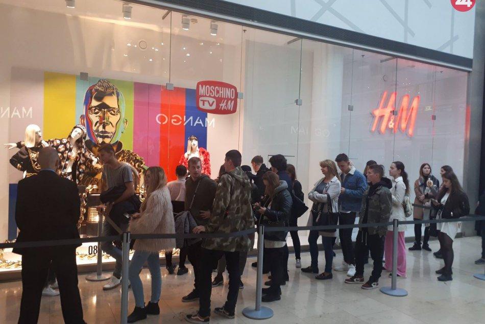 Predaj H&MOSCHINO v Eurovea