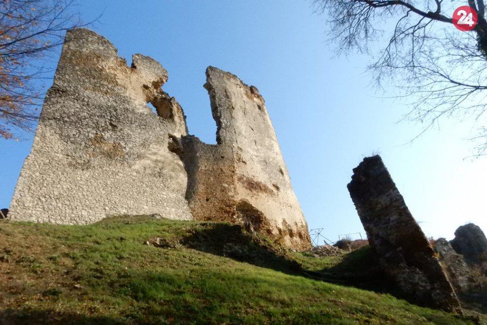 Aktuálne FOTKY z hradu Čičva: Počuli ste už legendu spojenú s týmto miestom?