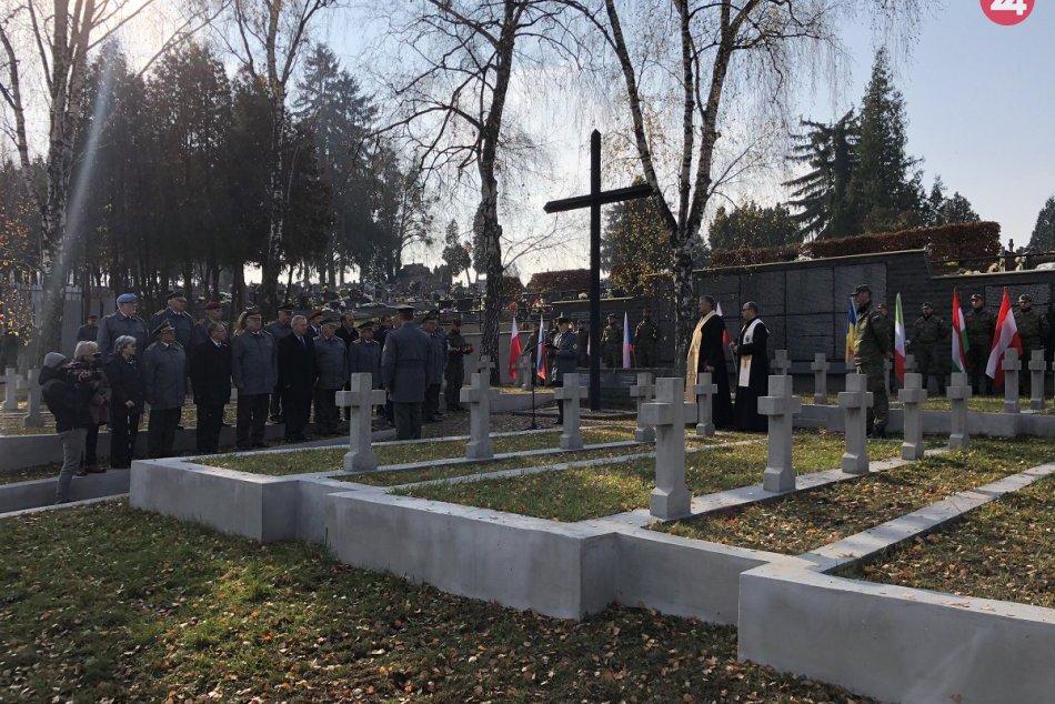 Prešov si pripomenul obete dvoch svetových vojen: Na počesť zaduneli salvy