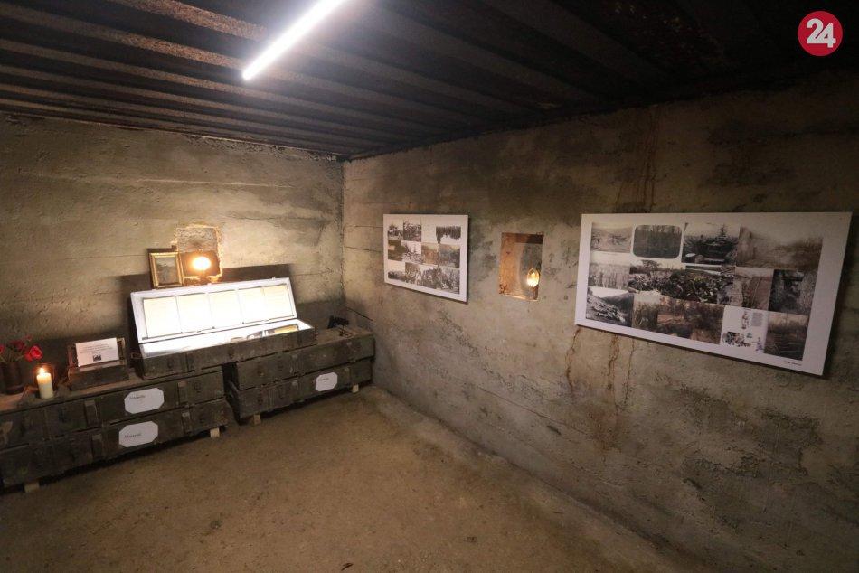 Slávnostné otvorenie bunkra nad Klepáčom
