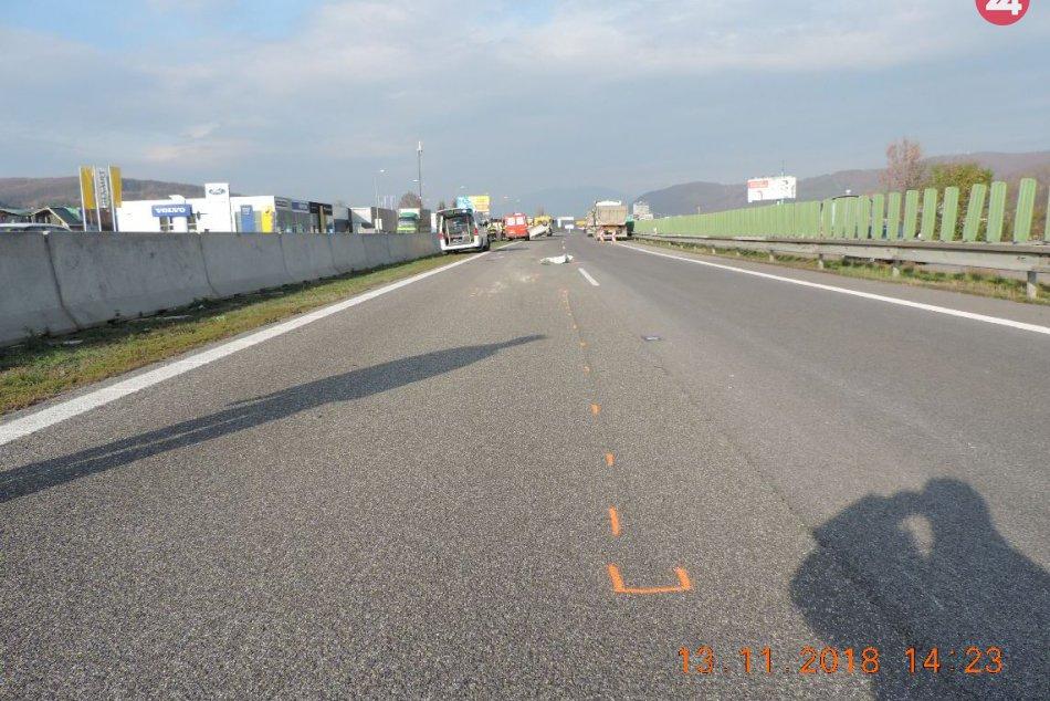 V OBRAZOCH: Medzi Bystricou a Zvolenom došlo k hrozivo vyzerajúcej nehode