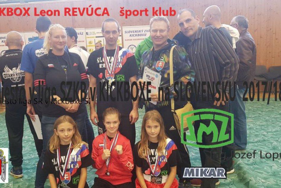 V OBRAZOCH: Športovci Kickbox Leon Revúca zažili medailové hody